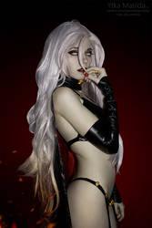 Lady Death cosplay by Ytka Matilda