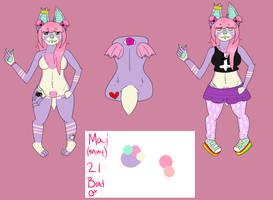 Mai the pastel princess bat