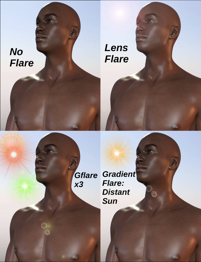 Tutorial] Quick Tip: The GIMP Can Do Lens Flares! by SickleYield on