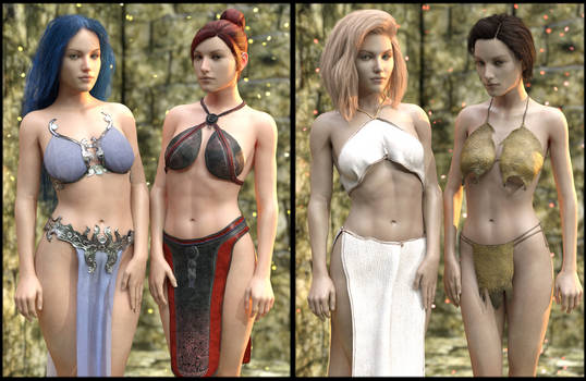 Sneak Preview: Fantasy Clothing Megapack Genesis 8