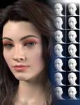SY Beautiful Faces Genesis 8 Female