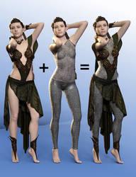 SY Fantasy Layers Genesis 8 Female by SickleYield