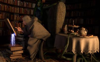 A Little Light Reading by SickleYield