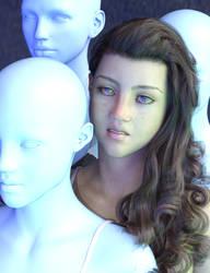 SY Unusual Faces Genesis 8 Female