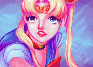 Sailormoon - Redraw Challenge