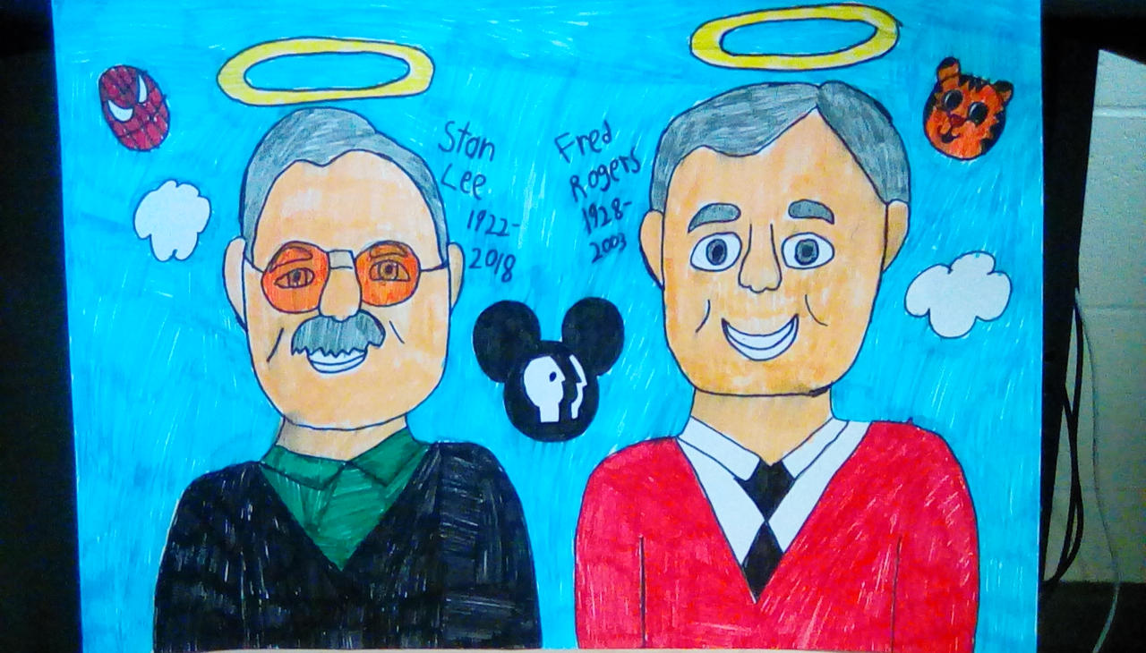 Stan Lee And Fred Rogers By Torrjua11011 On Deviantart