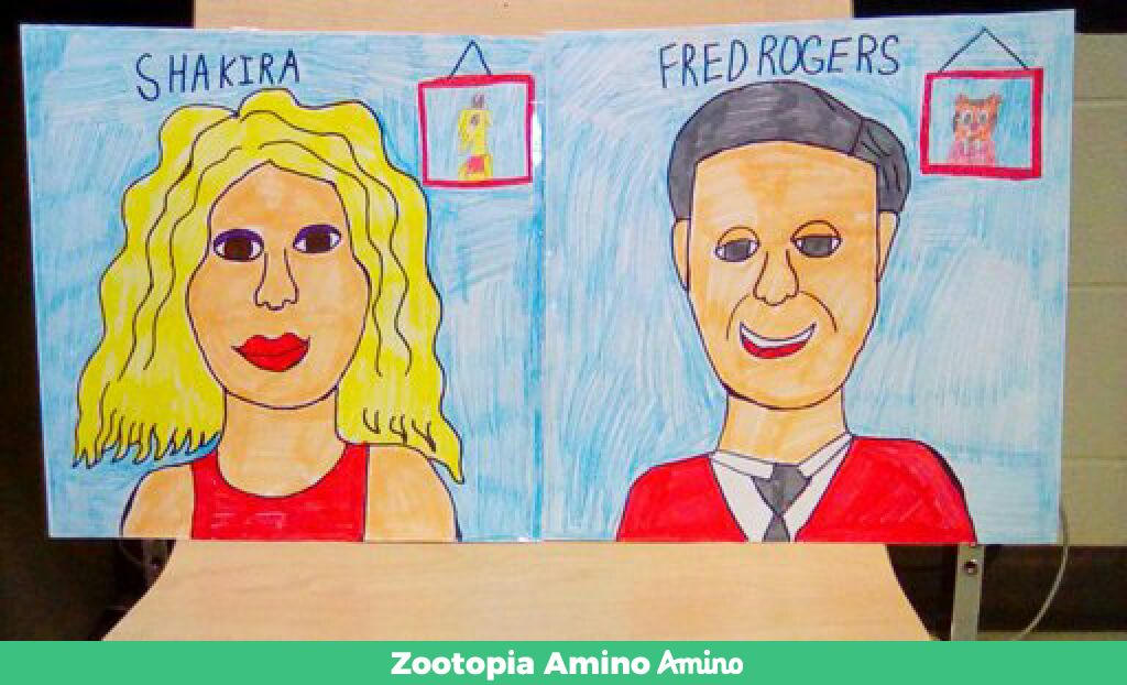 Shakira And Fred Rogers By Torrjua11011 On Deviantart