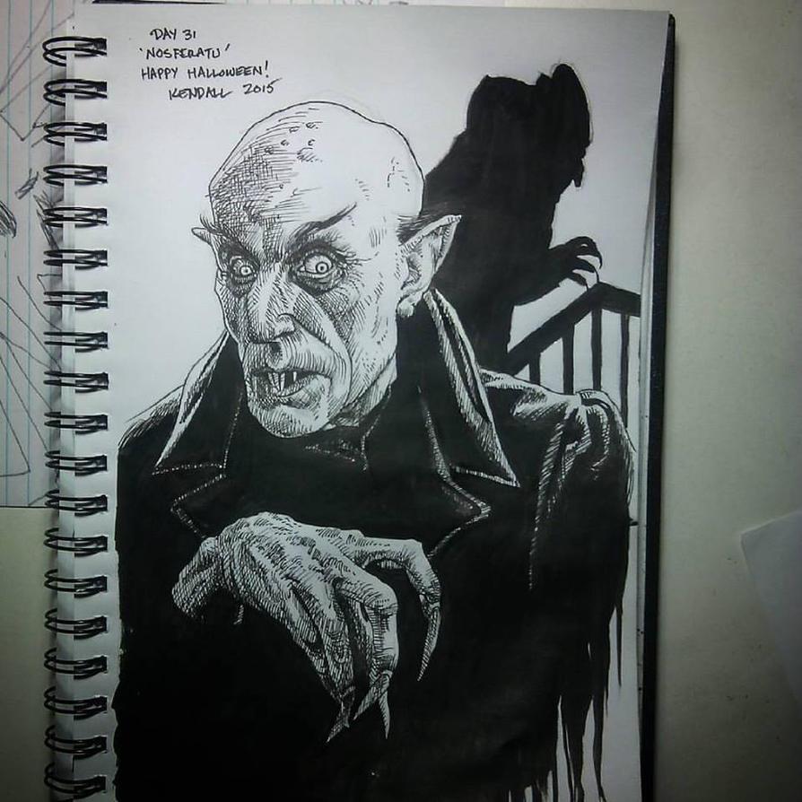 Nosferatu by KendallightStudios