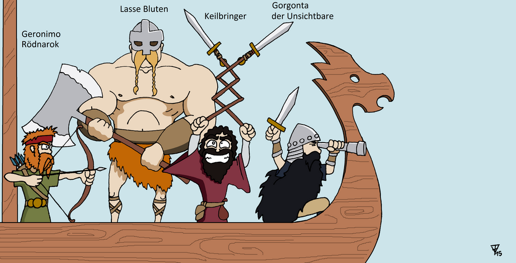 Pen and Paper Viking by StatistNr12