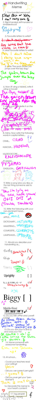 Handwriting Meme! 8D by xela1234