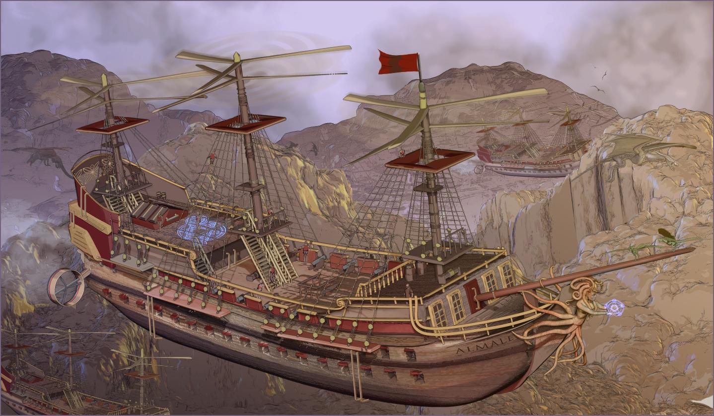 La Reunion Steampunk_airship_by_adigitalartist-d74c4px