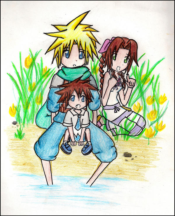 Family Bonding By The Pond By Janelvalle On DeviantArt