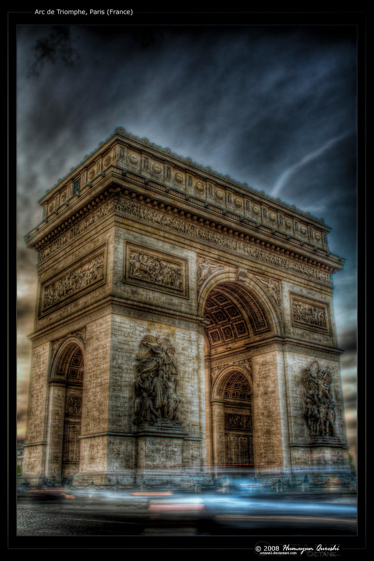 Arc de Triomphe - Paris by octane2