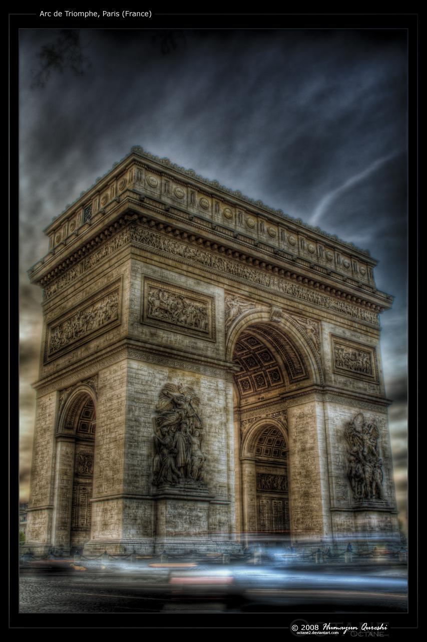 Arc de Triomphe - Paris by octane2