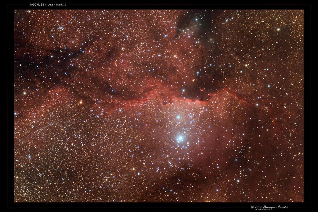 NGC 6188 in Ara - Mark II by octane2