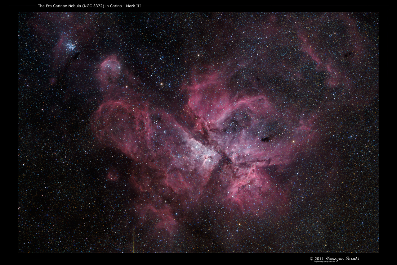 Eta Carinae Nebula - Mark III by octane2