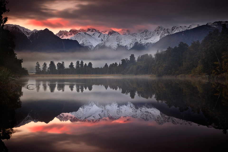 Interesting Photo of the Day: Ethereal Lake Matheson