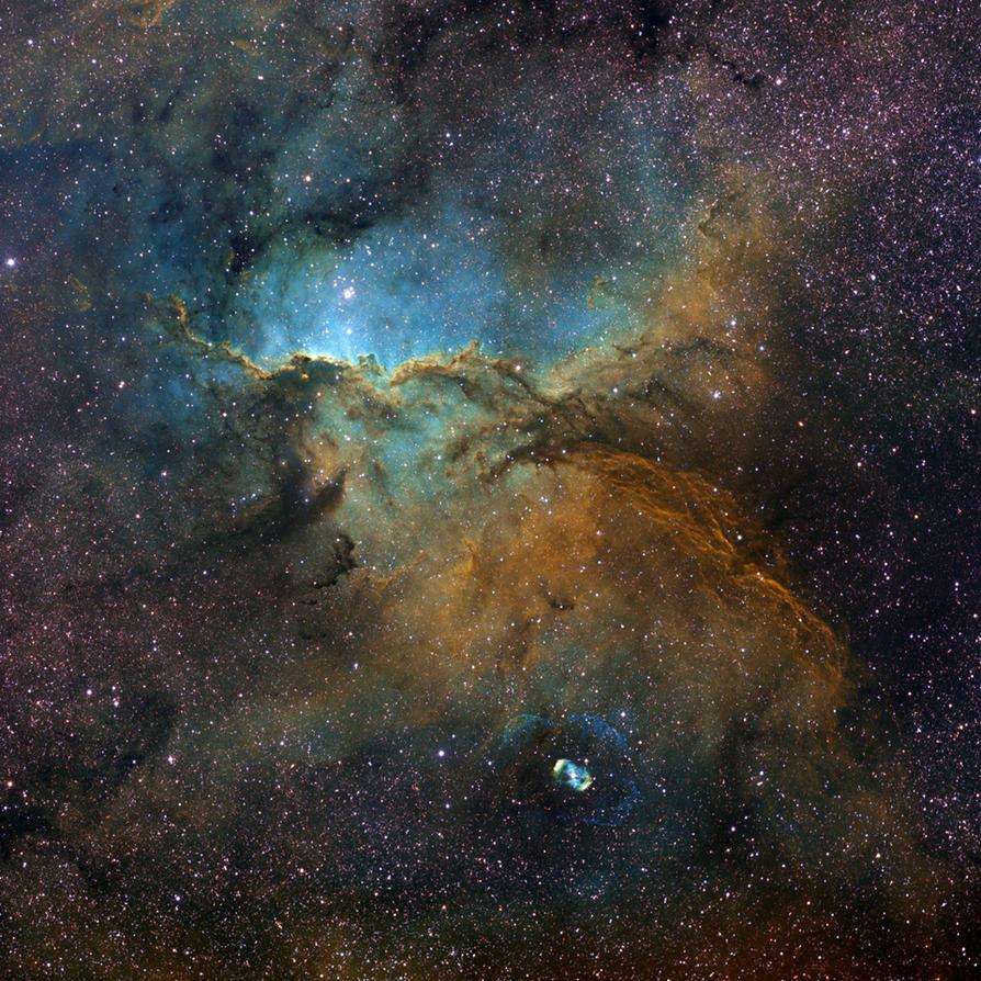 NGC 6188 in Ara by octane2