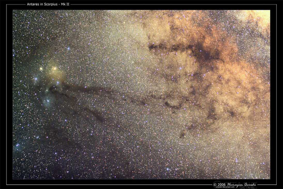 Antares in Scorpius - Mk II by octane2