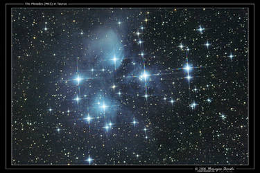 The Pleiades in Taurus by octane2