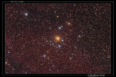 NGC 2451 in Puppis by octane2