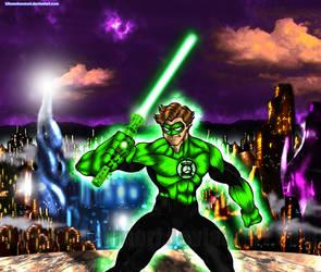 I'm a Green Lantern! I fear nothing!