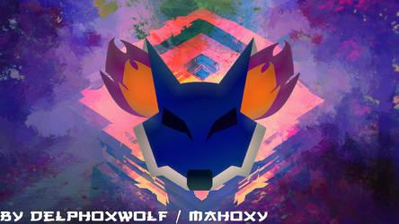 DelphoxWolf mahoxy logo youtube desing by delphoxw