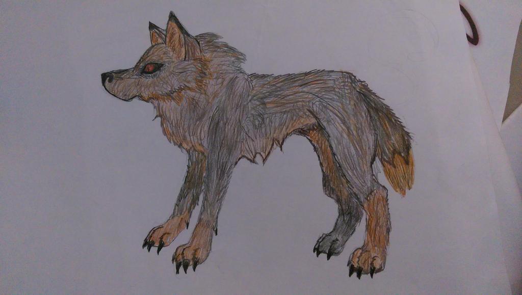 that wolfie by sasukekiller