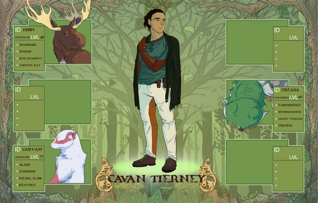 Pokemon Biome: Cavan Tierney