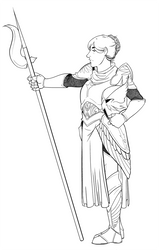 Biome RPG AU: Lark the Paladin