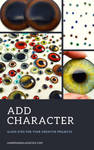 Add Character with Handmade Glass Eyes by Glamour365