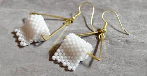 Toilet paper Earrings from Megan Petersen Jewelry