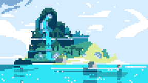 Geode Island (Steven universe) by Daydreamer194
