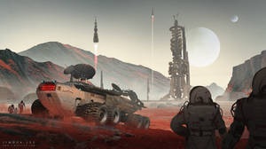 Mars station 03