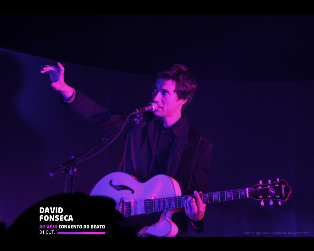 David Fonseca -  Live at Beato by Caddielook