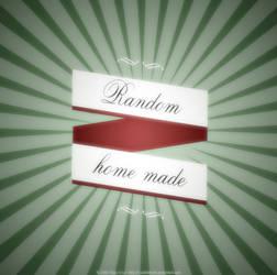 Random -'home made' cd-cover