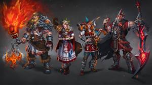 Unbroken: Character Lineup