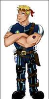 Male Mili Officer