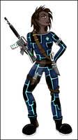 Female Mili Officer