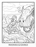Coloring Page - Moonria