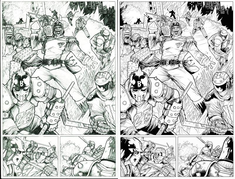 Issue 2 SNEAK PEEK! by LucidCreations