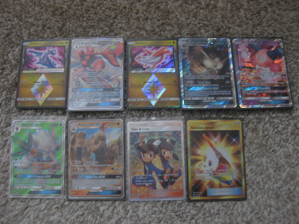 Pokemon - Celestial Storm - Ultra Rare Pulls. by Ganondorf8