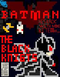 Batman The Black Knights Cover by SilverwindsPheonix
