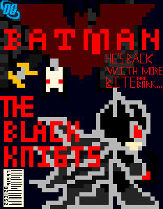 Batman The Black Knights Cover