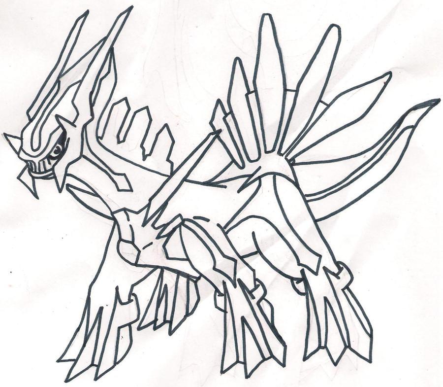 Dialga Pokemon Drawing | www.pixshark.com - Images ...