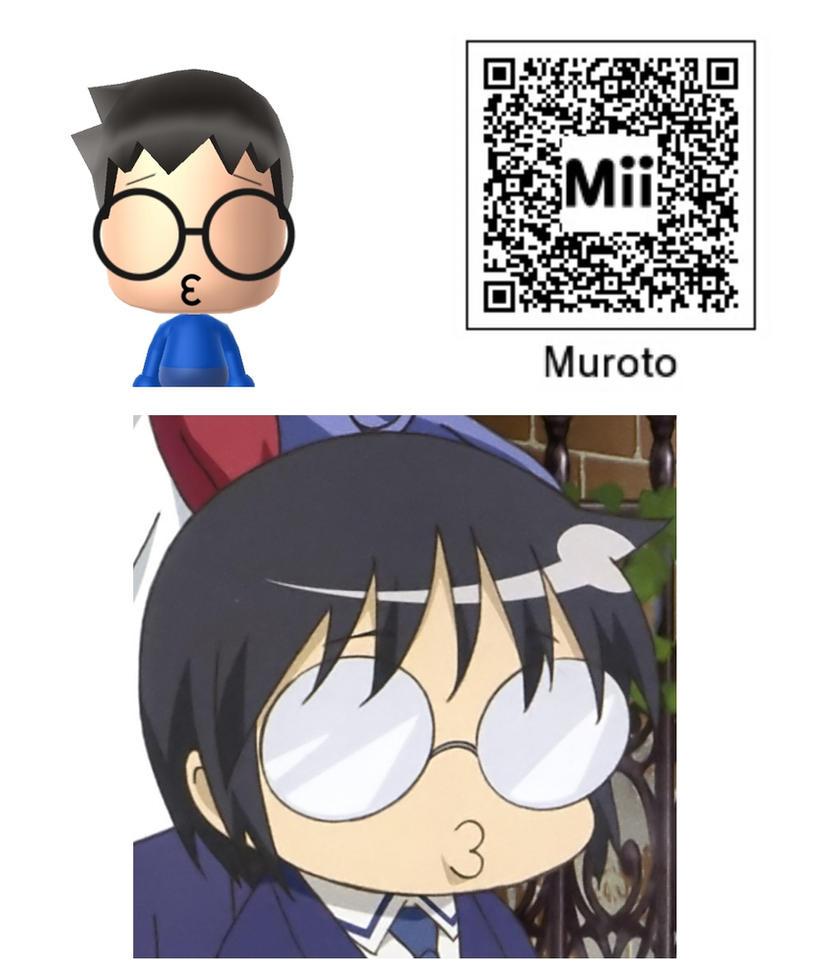 Anime Mii Characters 3ds : Daichi muroto mii kotoura san by bobby sama on deviantart