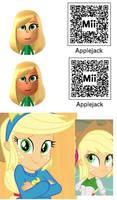 Applejack Mii (My Little Pony) by Bobby-sama