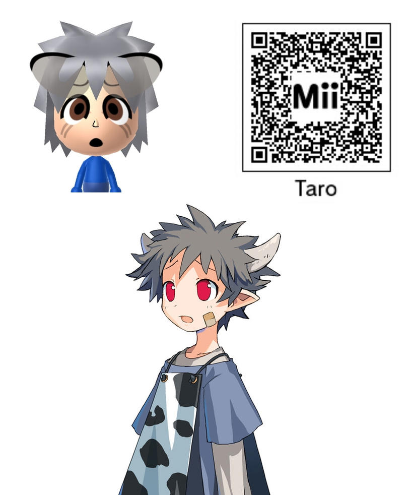 Anime Mii Characters 3ds : Taro mii disgaea cursed memories by bobby sama on