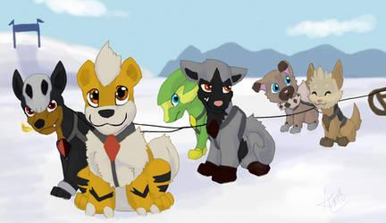 Sled (Pokemon) Team by AnAuddBall