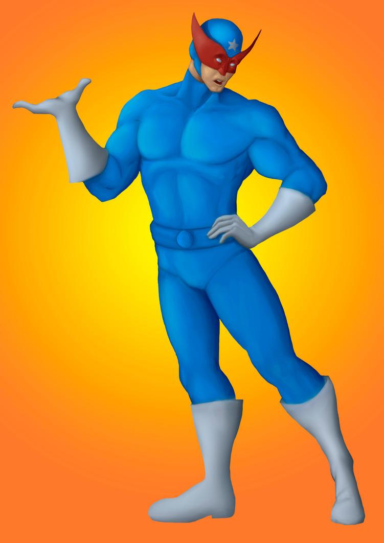 Boneco Azul Generico by MartianBean